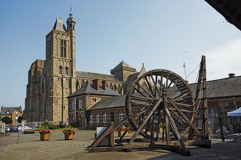 France, Bretagne, Dol-de-Bretagne, Museum and Cathedral Saint-Samson - BI000216