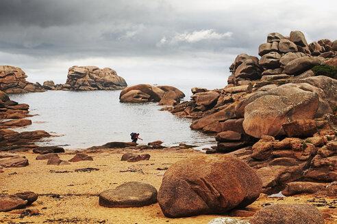 France, Bretagne, Perros-Guirec, Granite coast - BI000260