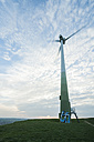 Germany, Baden-Wuerttemberg, Korntal-Muenchingen, Gruener Heiner, windmill - PAF000124