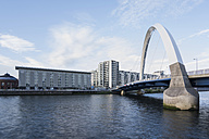 Great Britain, Scotland, Glasgow, River Clyde, Squinty Bridge, Clyde Arc - PAF000168