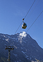Switzerland, Bernese Oberland, Cable car and Eiger summit - WW002920