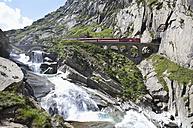Switzerland, Uri, Devil's Bridge in Schollenen Gorge - WW003139