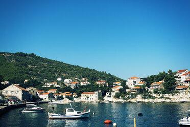 Croatia, Dalmatia, View of Korcula harbour - KAF000081