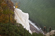 Germany, Mecklenburg-Western Pomerania, Ruegen, Jasmund National Park, Wissower Klinken, chalk cliff - WIF000260