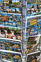 Germany, Bavaria, Munich, postcard rack - TC003786