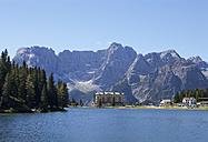Italy, Veneto, Sorapiss Group and Lake Misurina - WW003116