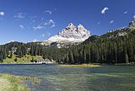 Italy, Veneto, Tre Cime di Lavaredo and Lake Misurina - WWF003117
