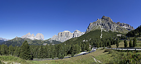 Italy, South Tyrol, Pordoi Pass - WWF003092