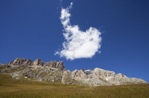 Italy, Trentino, Belluno, Pordoi Pass - WWF003096