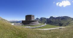 Italy, Trentino, Belluno, Soldier cemetery at Pordoi Pass - WWF003099