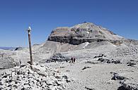 Italy, Trentino, Belluno, Mountain station at Sass Pordoi - WW003054