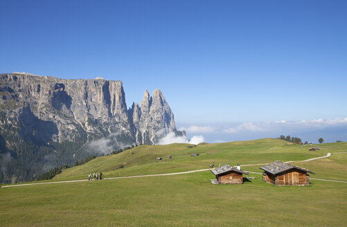 Italy, South Tyrol, Seiseralm and Schlern group - WW003062