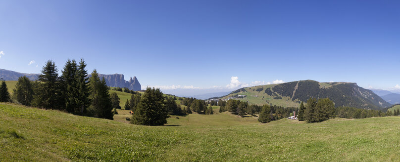 Italy, South Tyrol, Seiseralm and Schlern group - WW003067