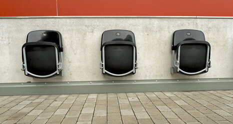 Germany, North Rhine-Westphalia, Aachen, football stadium Tivoli, seats - HL000328