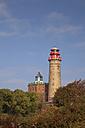 Germany, Mecklenburg-Western Pomerania, Cape Arkona, Schinkel Tower and Cape Arkona Lighthouse, New Tower - WIF000267