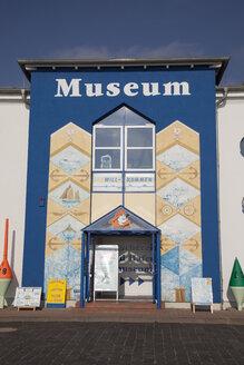 Germany, Mecklenburg-Western Pomerania, Rugia, Sassnitz, entrance of harbour museum - WI000276