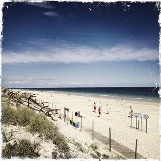 Ilha do Tavira, Praia do Barril, sandy Algarve, Portugal, Algarve - SE000195