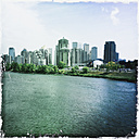 View on the Bow River and downtown Calgary, Canada, Alberta, Calgary - SEF000100