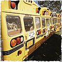 Old school bus, Canada, Saskatchewan - SE000109