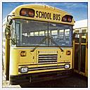 Old school bus, Canada, Saskatchewan - SE000112