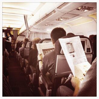 Inside an aircraft cabin - SE000165