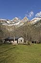 Spain, National Park Ordesa y Monte Perdido, Closed bar - LA000498