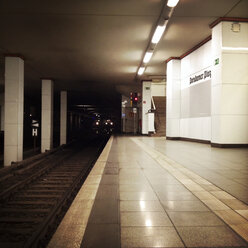 Underground S-Bahn station at Potsdamer Platz, Germany, Berlin, - ZM000034