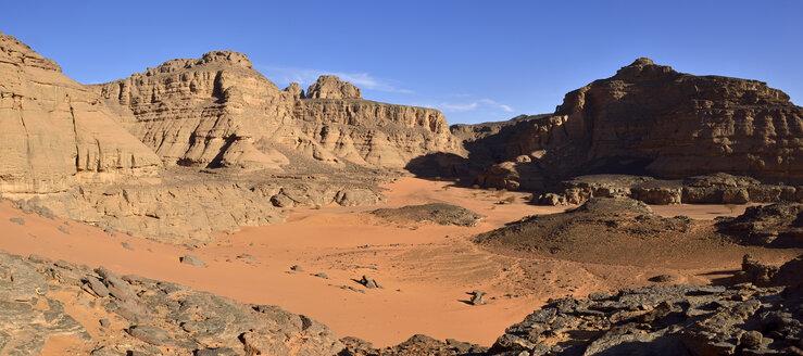 Algeria, Sahara, Tassili N'Ajjer National Park, Canyon of Tiseteka - ES000895