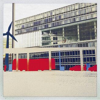 Model of energy service station, Deichtor Center, Germany, Hamburg - SE000265