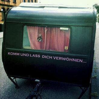 Mobiles brothel, caravans, Konstanz, Rheinland-Pfalz, Germany - GS000564