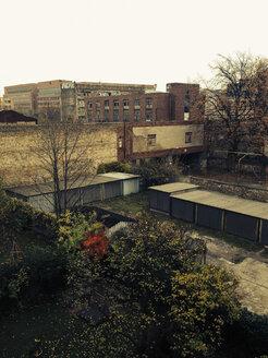 Backyard, Berlin Friedrichshain, Germany - GSF000587