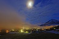 Austria, Tyrol, Schwaz, Achenkirch at Achensee by moonlight - GFF000365