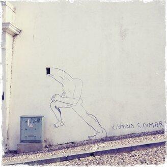 Portugal, Coimbra, Streetart - BM000761