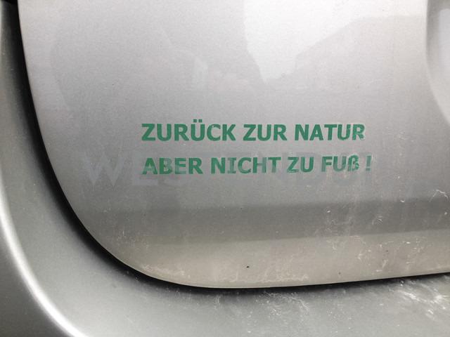 verdict on car, Dattenberg, Germany - FB000143