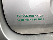 verdict on car, Dattenberg, Germany - FB000143