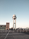 Radar tower, airport Tempelhof, Berlin, Germany - FB000148