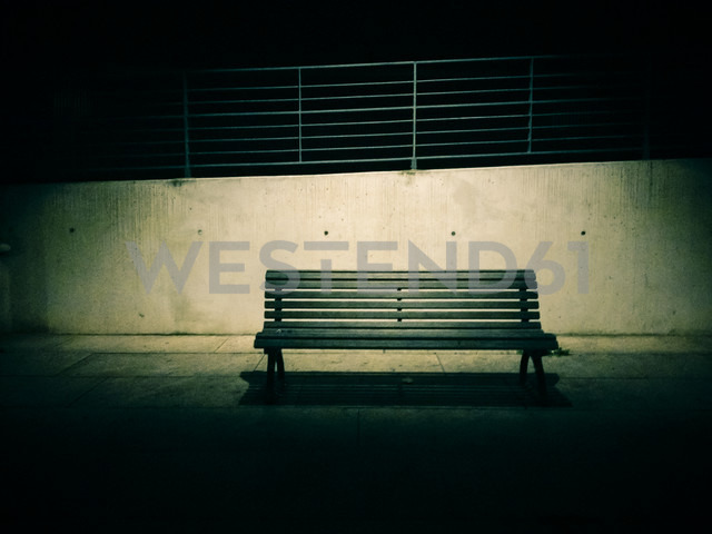 bench at park, Berlin, Germany - FBF000151