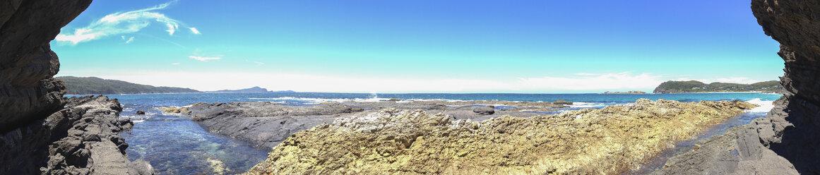 Australia, Coast at Seal Rocks, panoramic - FBF000097