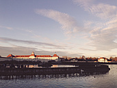 Nymphenburg Palace, Winter, sunset, landmark, Munich, Bavaria, Germany - GS000616
