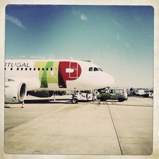 Air Portugal in Lissabon, Airport, Lissabon, Portugal - SE000393