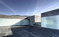 Portugal, Madeira, Calheta, art centre Casa das Mudas, view to courtyard - HL000358