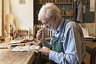 Violin maker at work - TCF003790