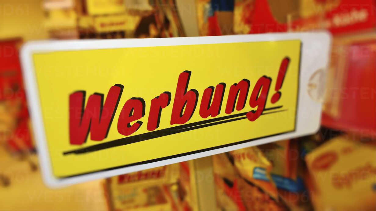 Advertising, Bavaria, Germany - MAE007600 - Roman Märzinger/Westend61