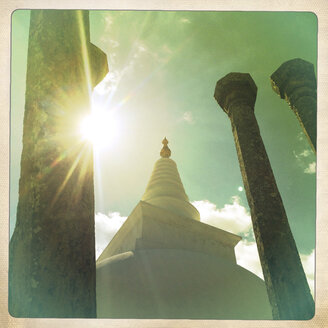 Stupa in Anuradhapura, Eternal Sacred City, Sri Lanka - DRF000419