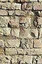 Germany, Baden-Wuerttemberg, stone wall, jurassic limestone - ELF000804