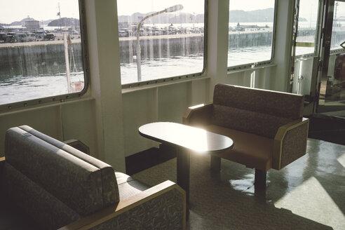 Japan, interior of a ferry - FL000366