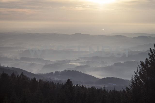 Germany, Bavaria, Sankt Englmar, View above Bavarian Forest - SBDF000434 - Susan Brooks-Dammann/Westend61