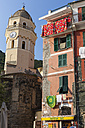Italy, Cinque Terre, View of Vernazza - AMF001623