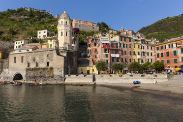 Italy, Cinque Terre, Harbour of Vernazza - AMF001625