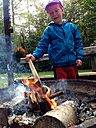 Boy at Fire, Germany, Baden-Wuerttemberg, Constance - JEDF000091